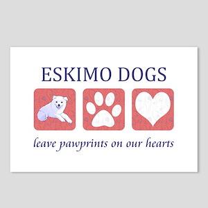 Eskimo Dog Lover Postcards (Package of 8)