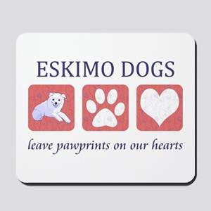 Eskimo Dog Lover Mousepad