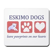 Eskimo Dog Lover Mousepad