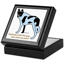 Who Shot My Paw? Keepsake Box