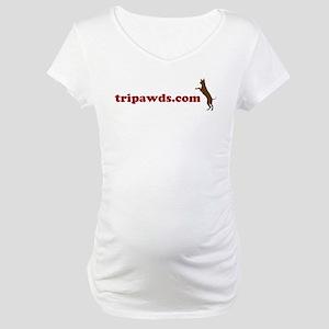 Tripawds.com Maternity T-Shirt
