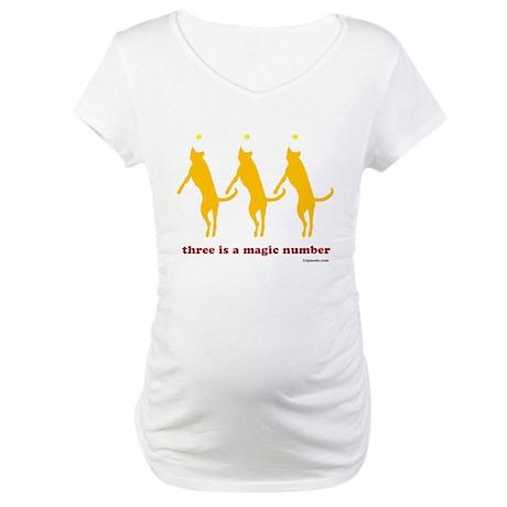 Magic Number 3 Maternity T-Shirt