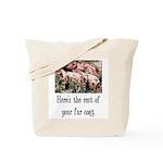 Rest of Your Fur Coat Tote Bag