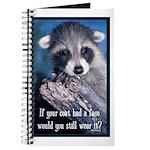 Raccoon Coat Journal