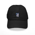 Raccoon Coat Black Cap