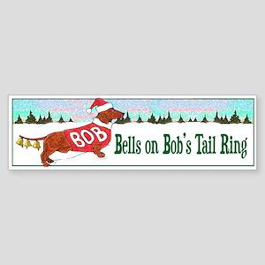 """BELLS ON BOB'S TAIL RING"" Sticker (Bump"