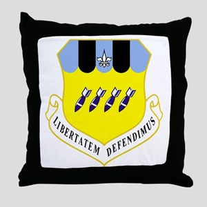 2nd Bomb Wing Throw Pillow