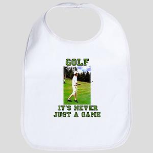 Golf Never Just a Game Bib