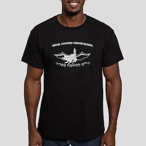 Counter Terror Mossad Men's Fitted T-Shirt (dark)