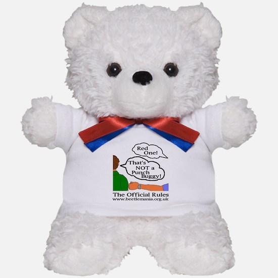 Punch Buggy Swag Teddy Bear