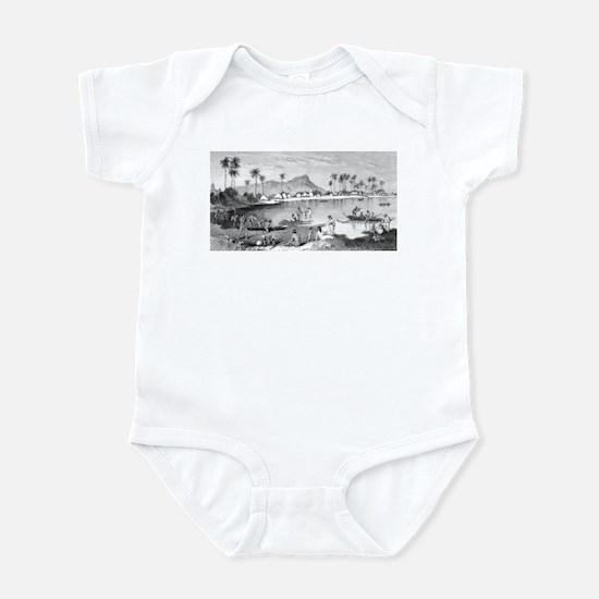 Old Waikiki Infant Bodysuit