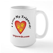 Tripawd Large Mug