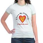 Tripawd Jr. Ringer T-Shirt