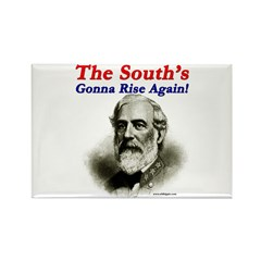 The Souths Gonna Rise Again Rectangle Magnet (100