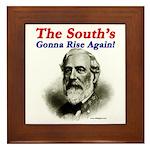 The Souths Gonna Rise Again Framed Tile