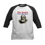 The Souths Gonna Rise Again Kids Baseball Jersey