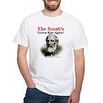 The Souths Gonna Rise Again White T-Shirt