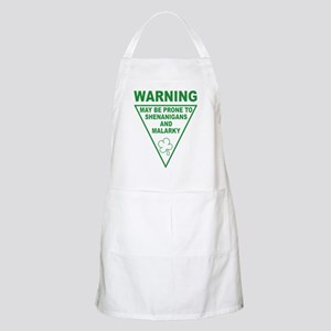 Warning Shenanigans and Malar Apron