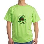 Kiss Me Irish Hat  Green T-Shirt