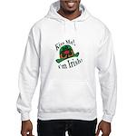 Kiss Me Irish Hat Hooded Sweatshirt