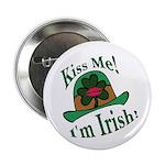 Kiss Me Irish Hat 2.25