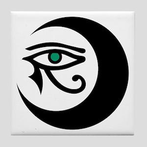 LunaSees Logo Art Tile