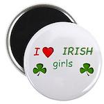 """Love Irish Girls 2.25"""" Magnet (10 pack)"""