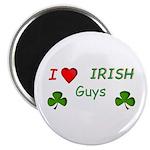 """Love Irish Guys 2.25"""" Magnet (10 pack)"""