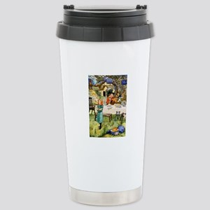 MAD HATTER'S TEA PARTY Stainless Steel Travel Mug