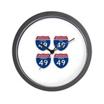 I-49 Four States Wall Clock
