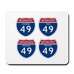 I-49 Four States Mousepad