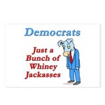 Democrats are Jackasses Postcards (Package of 8)