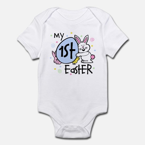 Bunny Chickie 1st Easter Infant Bodysuit