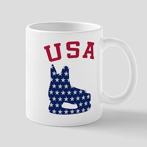 USA Hockey Skate Mug