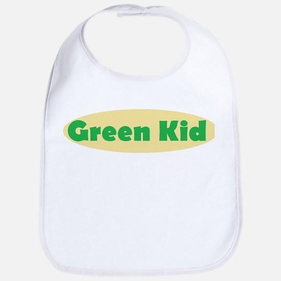 Green Kid Bib