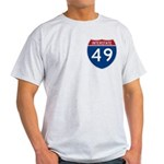 I-49 Four States Light T-Shirt