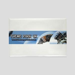 Theme park uk Rectangle Magnet