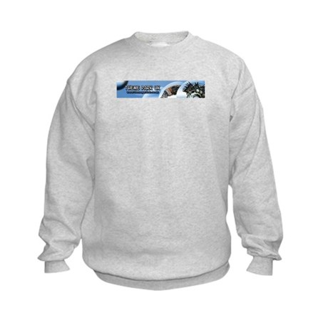 Theme park uk Kids Sweatshirt