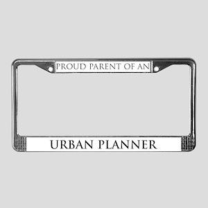 Proud Parent: Urban Planner License Plate Frame