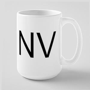 NV - NEVADA Large Mug