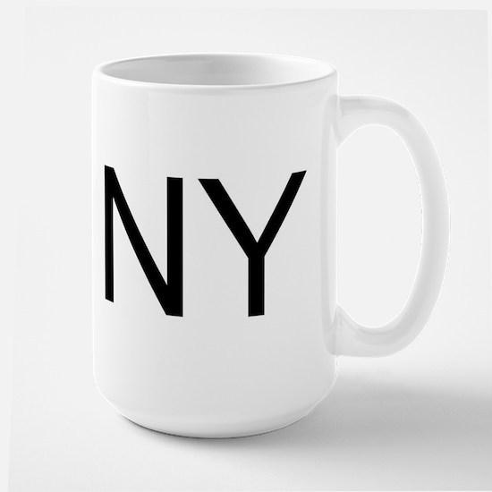 NY - NEW YORK Large Mug