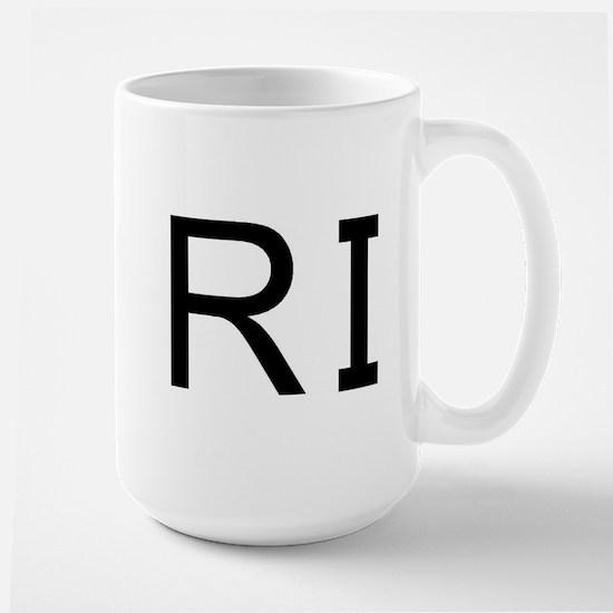 RI - RHODE ISLAND Large Mug