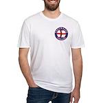 English Free Masons Fitted T-Shirt