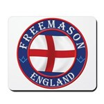English Free Masons Mousepad