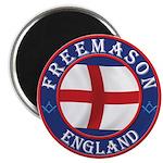 English Free Masons Magnet