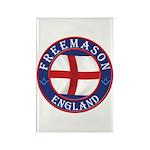 English Free Masons Rectangle Magnet