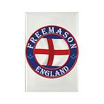 English Free Masons Rectangle Magnet (10 pack)