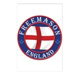 English Free Masons Postcards (Package of 8)