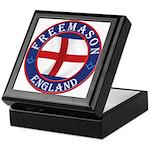 English Free Masons Keepsake Box