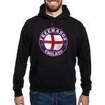 English Free Masons Hoodie (dark)